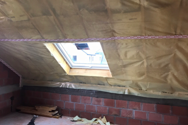 Entrepreneur toiture à Charleroi isolation